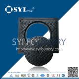 Duktile Eisen-Form-Einsteigeloch-Kappen-Vertiefungs-Kappe