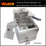 Sale caldo Commercial Electric Fryer, Desktop Electric Fryer per French Fries, Potato Chips ecc, 1 Tank 2 Baskets, CE Approved (HY-902EX)
