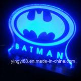 Zoll graviertes Acrylzeichen mit LED-Licht
