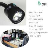 Luz do diodo emissor de luz da luz/lâmpadas do diodo emissor de luz da máquina do CNC para o Ce da máquina Onn-M3w IP65 4.5W 24V/100-240V do CNC, FCC