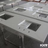 Dessus de vanité de salle de bains de quartz d'usine de la Chine