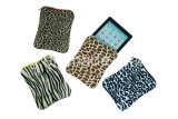 Saco/luva do portátil da cópia do leopardo da forma para o iPad