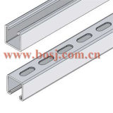 Solar Collector Brackets Roll Forming Making Machineマレーシアのための穴があいたSolar Steel Bracket