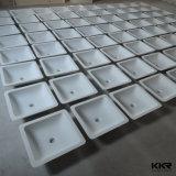 Kingkonree Steinharz-Wäsche-Bassin-festes Oberflächenacrylsauerwaschbecken
