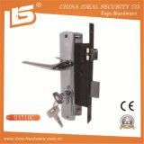 Aluminiumhandgriff-Eisen-Platten-Nut Lockset (03510)