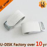 Creatieve Van de Bedrijfs aandrijving USB van de Flits van het Leer PromotieGift (yt-5116L3)