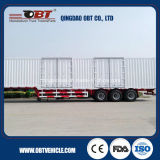 3 Radachsen 50t 60t Cargo Box Van Semi Trailer