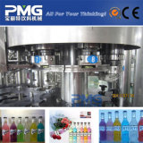 Cadena de producción de relleno carbonatada automática completa de la bebida de la botella de cristal