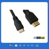 Mini HDMI a HDMI con el CE y RoHS Cable de ordenador