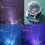 Van het LEIDENE van de disco 6X3w DMX DJ het Licht Stadium van de Kristallen bol