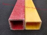 Tube carré de FRP avec d'excellentes propriétés ignifuges