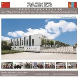 Le découpage de profil de PVC de châssis de fenêtre en aluminium de Jinan Parker a vu