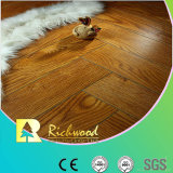 Commercial 8.3mm Embossed Hickory Waxed Edged Laminate Floor