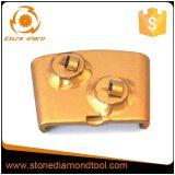 エポキシのコーティングの取り外しのためのPCDの台形のダイヤモンド