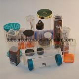 Fabricación plástica de empaquetado clara de China del tubo