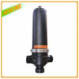 Filtro de placa automático do disco da limpeza do auto da água do remoinho do filtro do mícron da irrigação de gotejamento do filtro de areia da filtragem da água