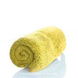 Tovagliolo di mano giallo di Microfiber di colore