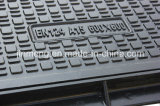 SMC Square Manhole Cover B125 Rating met Ce Certificate
