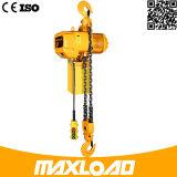 Grua Chain elétrica de 0.5 toneladas com tipo fixo do gancho (HHBB0.5-01SF)