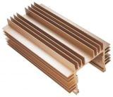 Profil en aluminium compétitif pour le radiateur avec l'anodisation et l'usinage