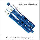 25 suspendidos pila de discos 2 pies de luz linear de 18W 3000/4000/6000k LED