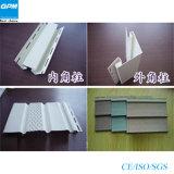 Alta riga di cristallo molle efficiente dell'espulsione del Wallboard del PVC