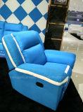 Le sofa manuel de tissu de Recliner avec tournent la fonction (781 simples)