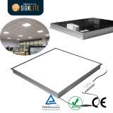 luz de painel econômica do diodo emissor de luz de 40W 600*600mm Backlite, luz de teto do diodo emissor de luz