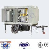 Tipo mobile strumentazione di filtrazione dell'olio isolante di vuoto