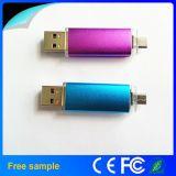 인조 인간 Smartphone를 위한 도매 싼 8GB OTG USB 섬광 드라이브