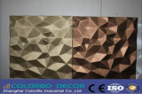 Облегченный MDF Wall Panels 3D Leather для Interior Decoration