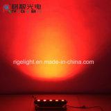 좋은 품질 방수 단계 당 예술 메시 P5 고성능 5*25W RGBWA 5in1 옥외 LED 벽 세척