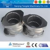 Винт Cr12MOV материальный для штрангпресса пластмассы Нанкин Tengda