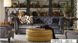 Furniture Sofa를 위한 현대 Sofa Leather Chesterfield Sofa