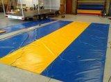 Bâche de protection enduite Tb092 de PVC de qualité