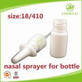 La alta calidad de 18 410 Bomba de plástico Médico nasal para el uso de la botella