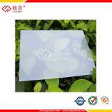Feuille de toit en polycarbonate solide transparent de 3 mm pour abri de cabine