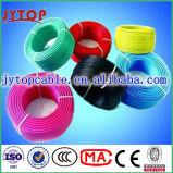 H07V-U, H07V-R, H07V-K de baja tensión PVC insualtion alambre de cobre
