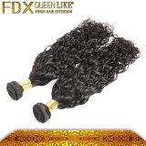純粋なブラジルのバージンのRemyの毛の拡張を包むカスタム毛の拡張