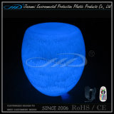 Meubles de DEL avec le changement de couleur illuminé par plastique de PE