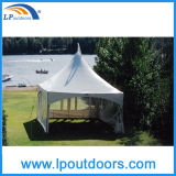 6X6m Aluminum Frame Wedding Gazebo Party Tension Tent für Sale