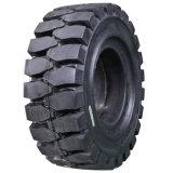 18X7-8 Gomma Solida, neumático del tecleo del neumático sólido 18X7-8 de la carretilla elevadora