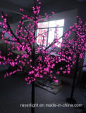 屋外LEDの桜のクリスマスツリーは装飾をつける
