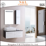 Vanità domestica di plastica moderna della stanza da bagno del PVC del Governo di Furnitury dello specchio
