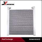 Type en aluminium réfrigérant d'ailette de plaque d'usine à huile hydraulique