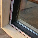 Finestra di scivolamento di alluminio di profilo con il blocco per grafici di legno Kz349