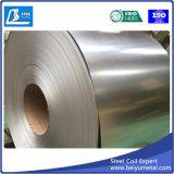 O zinco revestiu a tira de aço a folha laminada nas bobinas Q235