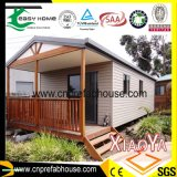 Chambres modulaires préfabriquées de conteneur de construction merveilleuse