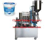 Nuevos relleno de la taza del yogur 2015 y máquina del lacre