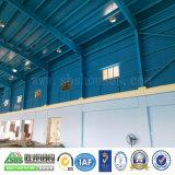 Magazzino prefabbricato della costruzione della struttura d'acciaio della costruzione